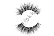 Charmylicious 100% 3D Mink Eyelashes by Lashylicious Natural Fluffy With Super Felxible Band and Useable 20+ times - Glamorous Fake lashes Extensions