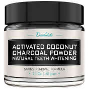Activated Charcoal Teeth Whitening Powder - Made in USA with Organic Coconut Activated Charcoal for Safe Effective Teeth Whitening, 100% Natural, . Strips, Kit, Gel & Whitening Toothpaste