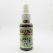 Holly Hill Health Foods, Breath Freshener (Peppermint Plus), Alcohol Free, 30ml