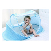 Baby Cribs,Efaster(tm) Toddler Infant Foldable Mosquito Net Pillow Music Box Set