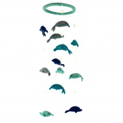 Global Craft Felt Dolphin Mobile -