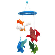 Global Craft Felt Dragon Mobile -