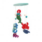 Global Craft Felt Mermaid Mobile -