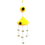 Global Craft Felt Beehive Mobile -