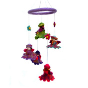Global Craft Felt Flower Fairy Mobile -