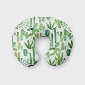 AllTot Nursing Pillow Cover in Green Cactus