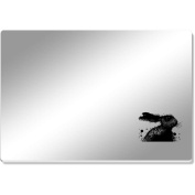 'Painted Hare' Mirror Acrylic Table Placemat