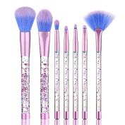 Face Brushes, Snowfoller Make Up Foundation Eyebrow Eyeliner Blush Cosmetic Concealer Brushes Liquid Stick Makeup Brushes 7PCS