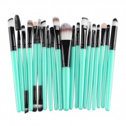 12 Pcs VIASA Makeup Brush Set, Professional Essential Cosmetic Make Up Brushes Kit For Eye Shadow, Blush, Concealer