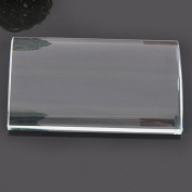 FUZHAN Crystal Glass U Curved Eyelash Extension Stand Base Holder Pallet For False Lash
