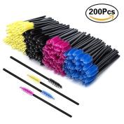 Eyelash Extension Disposable Mascara Wands Brush Applicator Cosmetic Makeup Tool Doubtless Bay