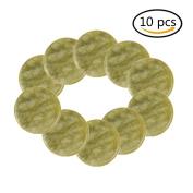 10 Pcs Jade Stones Eyelash Extension Glue Pallet Holder 5.1cm Wide