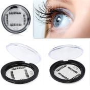 Magnetic Fake Eyelashes By Staron,0.2mm Ultra-thin Magnet Hand Made False Eye Lashes 3D Reusable False Eyelashes Extension