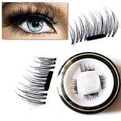 Magnetic Fake Eyelashes By Staron,0.2mm Ultra-thin Magnet False Eye Lashes 3D Repeat Easy To Use False Eyelashes Extension