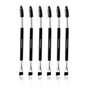 MLM 1 Pc Double-end Eyebrow Mascara Brush Eyelash Eyebrow Brush Tool For Eye Makeup