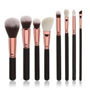 Convinced 8 8pcs Cosmetic Makeup Brush Blusher Eye Shadow Brushes Set Kit