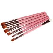 YRD TECH Makeup Brush Lip, 6PCS Cosmetic Makeup Brush Lip Makeup Brush Eyeshadow Brush