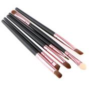 YRD TECH Makeup Brush ,6PCS Cosmetic Makeup Brush Lip Makeup Brush Eyeshadow Brush