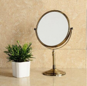 Ohcde Dheark New Arrivals Makeup Mirror 1:1 And 1:3 Magnifier Antique Cosmetic Mirror Bathroom Double Faced Bath Mirror Table Mirror