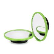 Blind Spot Mirror, DORIC Round HD Glass Convex Rear View Mirror, 5.1cm / 2 PCS