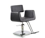 ColdBeauty Black Hydraulic Barber Chair Beauty Equipment Square Base