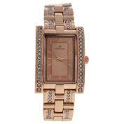 Kim & Jade 2060l-Gpgp Rose Gold Stainless Steel Bracelet Watch Watch For Women 1 Pc