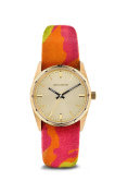 Zadig & Voltaire Zvf205 Gold/rose Multicolor Cloth Bracelet Watch Watch For Women 1 Pc