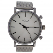 Antoneli Ag6182-09 Silver Stainless Steel Mesh Bracelet Watch Watch For Women 1 Pc