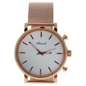 Antoneli Ag6182-10 Rose Gold Stainless Steel Mesh Bracelet Watch Watch For Unisex 1 Pc
