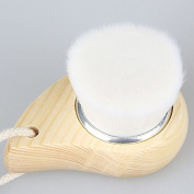 Vinmax Soft Mild Fibre Exfoliating Facial Brush Facial Face Deep Cleansing Clean Wash Pore Care Brush Head Wood face cleaner