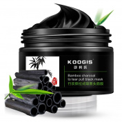 Kixing(TM) Bamboo Charcoal Blackhead Purifying Peel Off Mask Blackhead Remover Black Mask