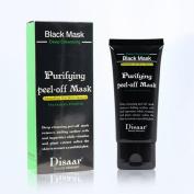 Kixing(TM) Black Mud Deep Cleansing Purifying Peel Off Remove Blackhead Facial Mask