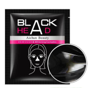 Kixing(TM) 1 pc Black Mud Deep Cleansing Purifying Peel Off Facail Face Mask Remove Blackhead Facial Mask