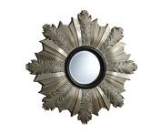 ACME Furniture 97226 Phoenix Accent Wall Mirror, Antique Champagne PU