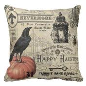 DWD Pillow Case Sofa Waist Throw Cushion Cover Home Decor