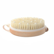Vinmax Bath Shower Bristle Brushes Massage Body Brush with Band Wooden Shower Body Bath Brush