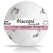 Nacomi Natural Fizzing Bath Bomb Oriental Musk with Rose Petals