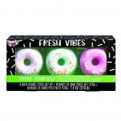 Fashion Angels Fresh Vibes Donut Bath Bombs 3 Pack