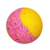 Watermelon Lemonade Bath Bomb - Bath Bomb for Everyone - Large Bath Bomb 160ml - Coconut Oil - Kaolin Clay - Skin Moisturisers - Aromatherapy Bath- Add to Bubble Bath (6 Bath Bombs)