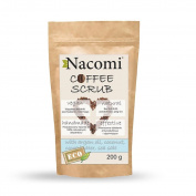Nacomi Vegan Natural Dry Body Scrub Coffee Handmade 200g