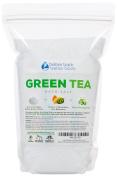 Green Tea Bath Salt 0.9kg (950ml) Epsom Salt With Green Tea Fragrant Oil Plus Vitamin C Crystals - Enjoy This Relaxing Aromatherapy Bath Soak