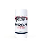 Detroit Barbers All-Natural Deodorant - Citrus Lavender