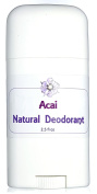 Acai Natural Deodorant - Sweet and Rich Berry Fragrance - Natural Odour Control Blend with Absorbent Clays and Powders