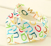 100% Cotton Cartoon Newborn Baby Burp Bibs Cotton Soft Kids Toddler Triangle Scarf Bib Cool Infant Saliva Towel