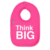 Think Big Cotton Pink Bib by Snuglo™