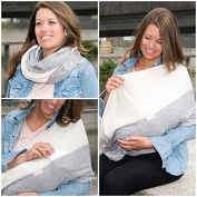 "Mania Breastfeeding scarf ""Beauty"" with small pocket for nursing pads in size L/XL"
