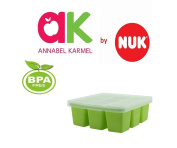 Baby Food Cube Freezing Tray Pots Storage Containers Annabel Karmel