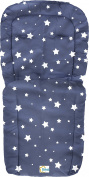 Fillikid Duo Footmuff Blue with Stars