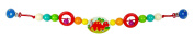 Hess 12972 Wooden Dinosaur Carriage Chain Baby Toy