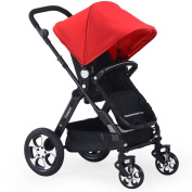 Anna Baby Stroller Travel System Baby Stroller Baby Trolley High-profile Shock Absorber Light Folding Can Sit Can Lie Can Sleep Cart Adjustable Pushchair stroller